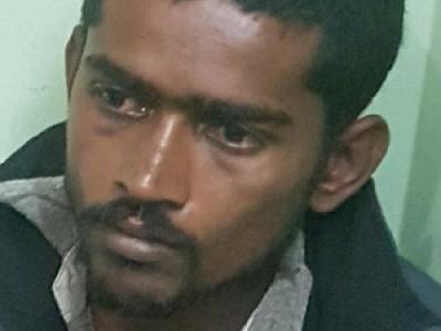 چنتامنی میں غیر قانونی گانجہ فروخت کرنے کے الزام میں ایک شخص گرفتار