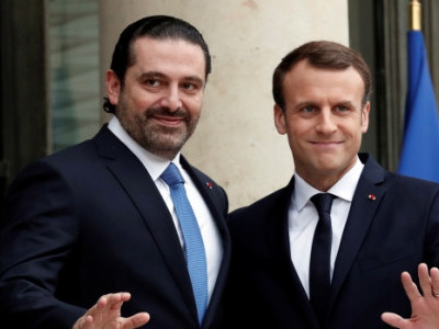 الحریری کی فرانسیسی صدر سے ملاقات اور لبنان واپسی کا امکان