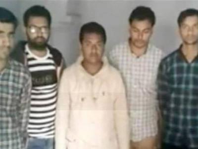 ایودھیاچیک پوسٹ کے قریب شک کی بنیادپرآٹھ نوجوان گرفتار