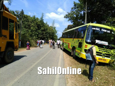 Bus-bike collision near Siddapur, rider dies