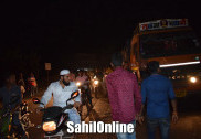 Truck rams into bike on Bhatkal NH-66, rider seriously injured