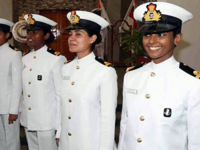 Indian Navy gets its first woman pilot, three women Naval Armament Inspectorate officers