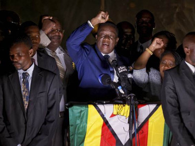New day in Zimbabwe: Emmerson Mnangagwa sworn in as President