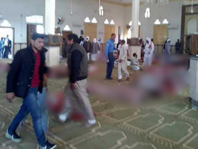 235 killed in terror attack on Egypt mosque