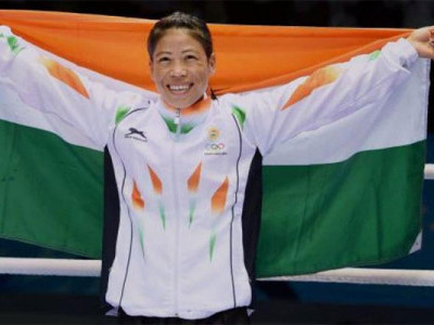 Mary Kom strikes gold at Asian Women's Boxing Championships
