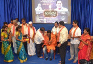Prakash Raj receives Karanth award, saffron outfits protest