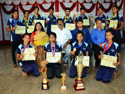 Beena Vaidya College bags overall Runner-up championship at KUD