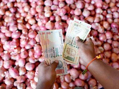 اچھے دن کاسلسلہ جاری !دیوالی پرپھر رلائے گی پیاز،قیمت 50روپئے سے متجاوز
