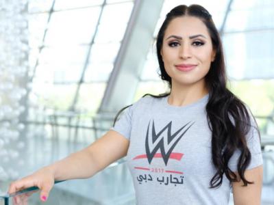 اردن کی شادیہ بسیسو پہلی عرب خاتون ریسلر