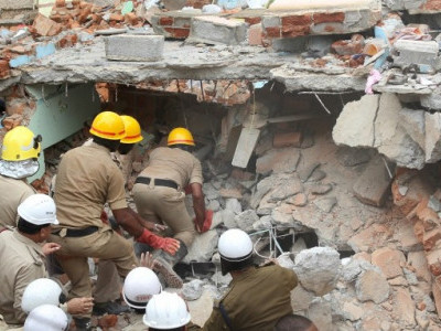 Bengaluru building collapse: Owner arrested