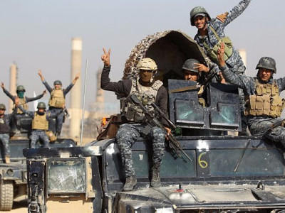 نینوی میں پیشمرگہ کے علاقوں پر عراقی فورسز کا کنٹرول