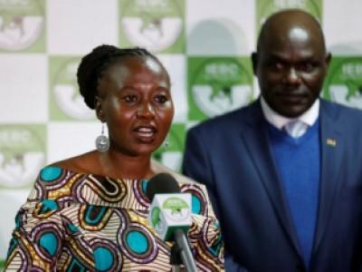 کینیا میں الیکشن کمشنر مستعفی