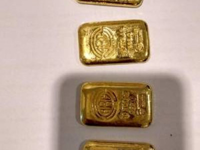 Four gold biscuits seized from woman