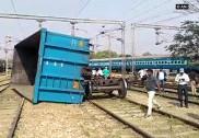 Goods train derails in Mathura, Delhi-Agra route disrupted