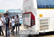 Engine of Mangaluru bound Volvo bus catches fire, passengers safe