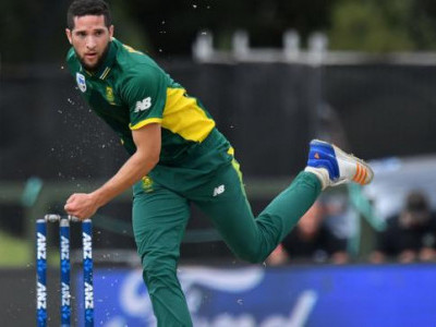 جنوبی افریقہ کو جھٹکا، چوٹ کی وجہ سے وین پارنیل ٹی 20-سیریز سے باہر