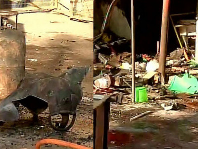 پنچ کولہ:رسوئی گیس سلنڈر میں رساؤ کے بعد دھماکہ، 8 زخمی