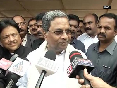 Members of RSS and Bajrang Dal are terrorists' says Karnataka C M Siddaramiah