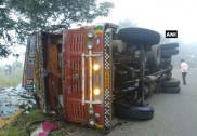 Maharashtra: 10 killed as truck overturns in Sangli