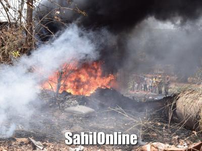 Siddapur: Shop gutted in blaze