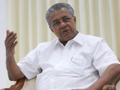 Vilification of Taj Mahal shows BJP's intolerance: Kerala Chief Minister Pinarayi Vijayan