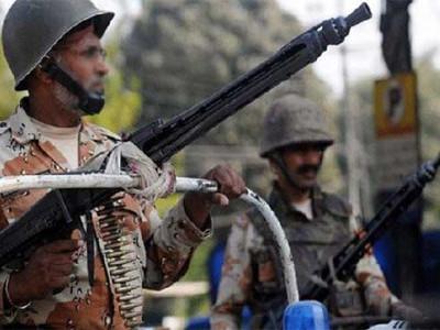 کراچی میں آٹھ مشتبہ دہشت گرد ہلاک، پاکستانی رینجرز