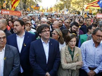 اسپین اور کاتالونیا کے مابین کشیدگی بڑھتی ہوئی