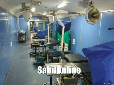 Hospital train 'Lifeline Express' arrives in Kumta