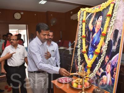 کتور کی رانی چنما ریاست کنڑا کی عظیم مجاہد ہ اور جہدکاروں کے لئے عملی نمونہ : کاروار میں ایڈیشنل ڈی سی پرسنا کا بیان