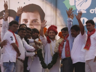 Gujarat's voice can't be purchased, says Rahul Gandhi