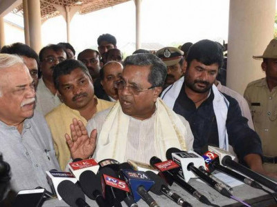 Hubballi: Karnataka CM Siddaramaiah takes exception to Modi's statement on funds' release