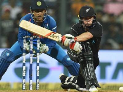 کوہلی کے200ویں یک روزہ میں شاندار سنچری رائیگاں،لاتھم کی سنچری سے نیوزی لینڈ نے ہندوستان کو 6وکٹ سے شکست دی