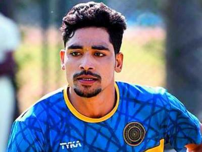 تیز گیند باز محمد سراج اور شریس ایّر نیوز لینڈ کے خلاف کھیلے جانے والے ٹی 20میاچ کی ہندوستانی ٹیم میں شامل