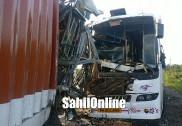 Multi vehicle collision on Bhatkal NH-66; 1 killed, 15 hurt