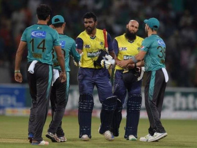 Hashim Amla, Thisara Perera lead World XI to 7-wicket win over Pakistan in 2nd T20
