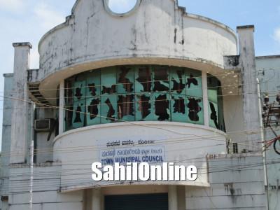 بھٹکل میونسپالٹی عمارت پر توڑ پھوڑ کا معاملہ؛ سنگھ پریوار کے کارکنوں کی گرفتاری کے خلاف انکولہ میں احتجاج۔ بھٹکل چلو ریالی کا اعلان