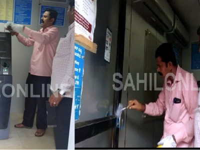 Hubli: Rs 18 lakh stolen from SBI ATM