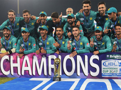 Pakistan celebrate cricket return with series triumph over World XI