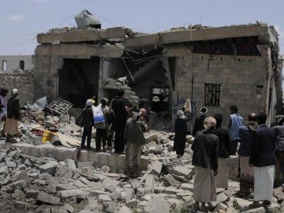 عرب اتحادی فوج کے طیاروں کی بمباری سے 20 حوثی ہلاک