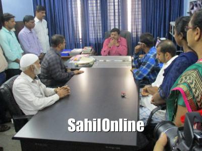 عدم تحفظ کا شکار بھٹکل میونسپالٹی ملازمین کا اسسٹنٹ کمشنر سے حفاظتی اقدامات کا مطالبہ؛ چیف آفیسر ہنوز  لاپتہ