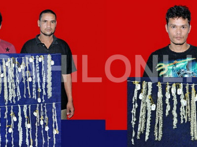 اُڈپی : شیرور جولیری ڈکیتی معاملہ :5نیپالی ملزمان کی گرفتاری ؛زیورات ضبط
