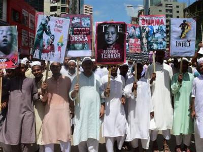 بنگلہ دیش میں 20 ہزار افراد کی روہنگیا مسلمانوں کے حق میں ریلی