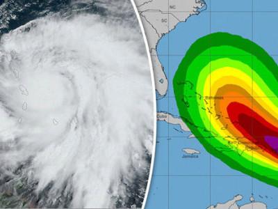 ماریا تباہی پھیلاتا ہوا ڈومینیکا سے گزر گیا
