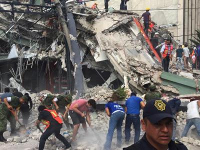 میکسیکو زلزلہ: حکومت کے مطابق ہلاک ہونے والوں کی تعداد 200 سے تجاوز کر گئی