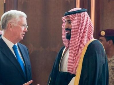 سعودی عرب اور برطانیہ کے درمیان دفاعی شعبے میں تعاون کا سمجھوتا