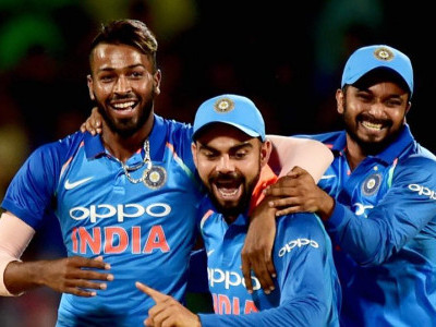 ہاردک پانڈیا کی شاندار آل راؤنڈ کارکردگی سے ٹیم انڈیا نے آسٹریلیا کو 26رنز سے شکست دی