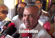 Home Minister Ramalinga Reddy hits out at BJP