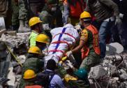 میکسیکو میں زلزلے کے بعد متاثرین کی تلاش جاری