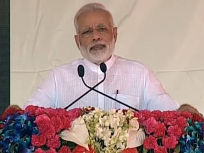 2022 ء تک ہر ہندوستانی کو گھر ، کسانوں کی آمدنی دوگنی !وزیراعظم مودی کاوارانسی میں خطاب