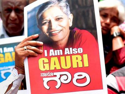 گوری لنکیش قتل کی جانچ؛خصوصی تحقیقاتی ٹیم برقرار: پولیس کمشنر